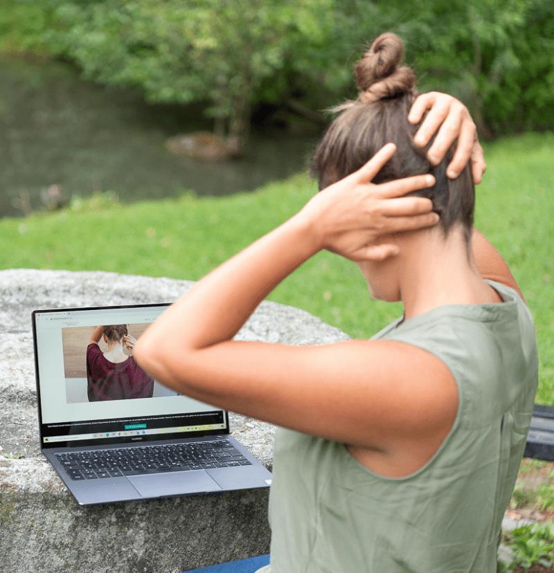 Entspannungspause Selbstmassage und Partner Kurse für mehr Entspannung im Alltag